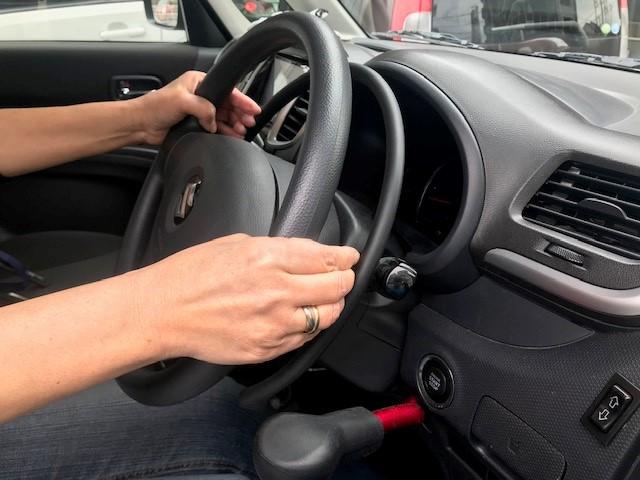 手動運転装置アクセルリング&ブレーキレバー