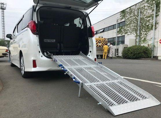 福祉車両改造 スロープ仕様