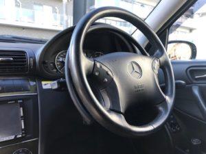 W203・Cクラス・手動運転装置