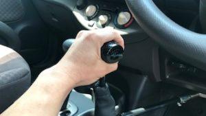 フロアタイプ手動運転装置