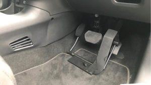 福祉車両改造・左足アクセルペダル
