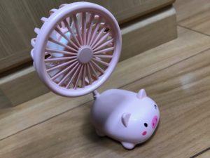 アニマル・デスク扇風機