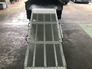 軽トラック・スロープ