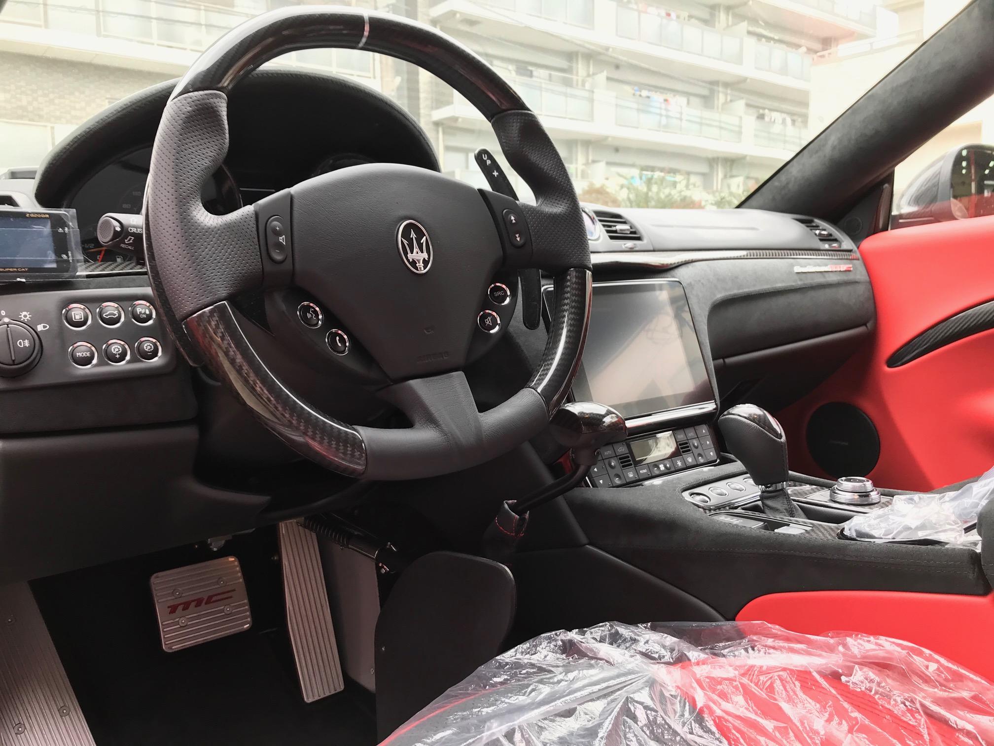 マセラティ グラントゥーリズモMC 福祉車両改造