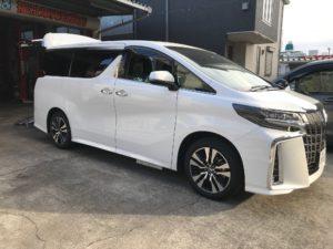 トヨタ・30アルファード・スロープタイプ・福祉車両改造